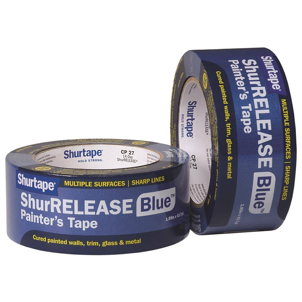 Shurtape Masking Tape - Blue, 48mm X 55m