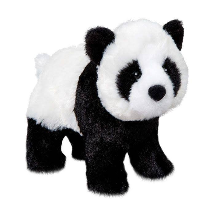 Douglas Cuddle Toys Bamboo Panda Sitting Stuffed Animal