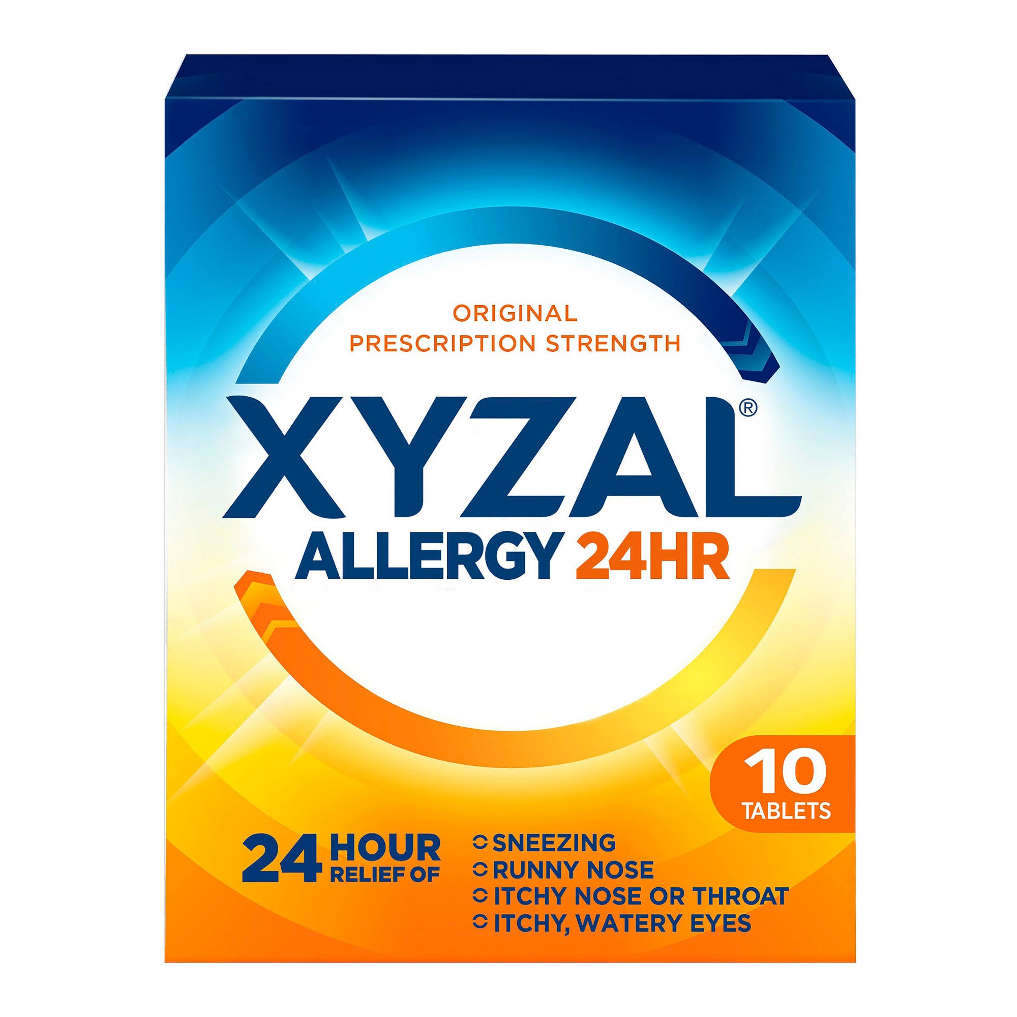 Xyzal 24 Hour Allergy Relief Tablets - 10 Tablets