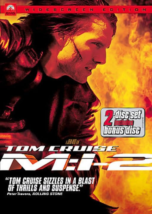 Mission Impossible II DVD