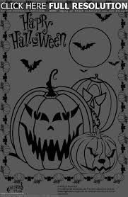 Scary Halloween Coloring Pages Online by Scary Halloween Coloring Pages For Kids U2013 Fun For Halloween