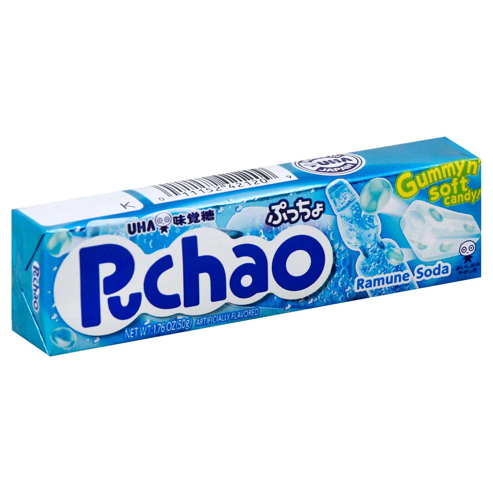 Puchao Ramune Soda Gummy Candy - 1.76oz