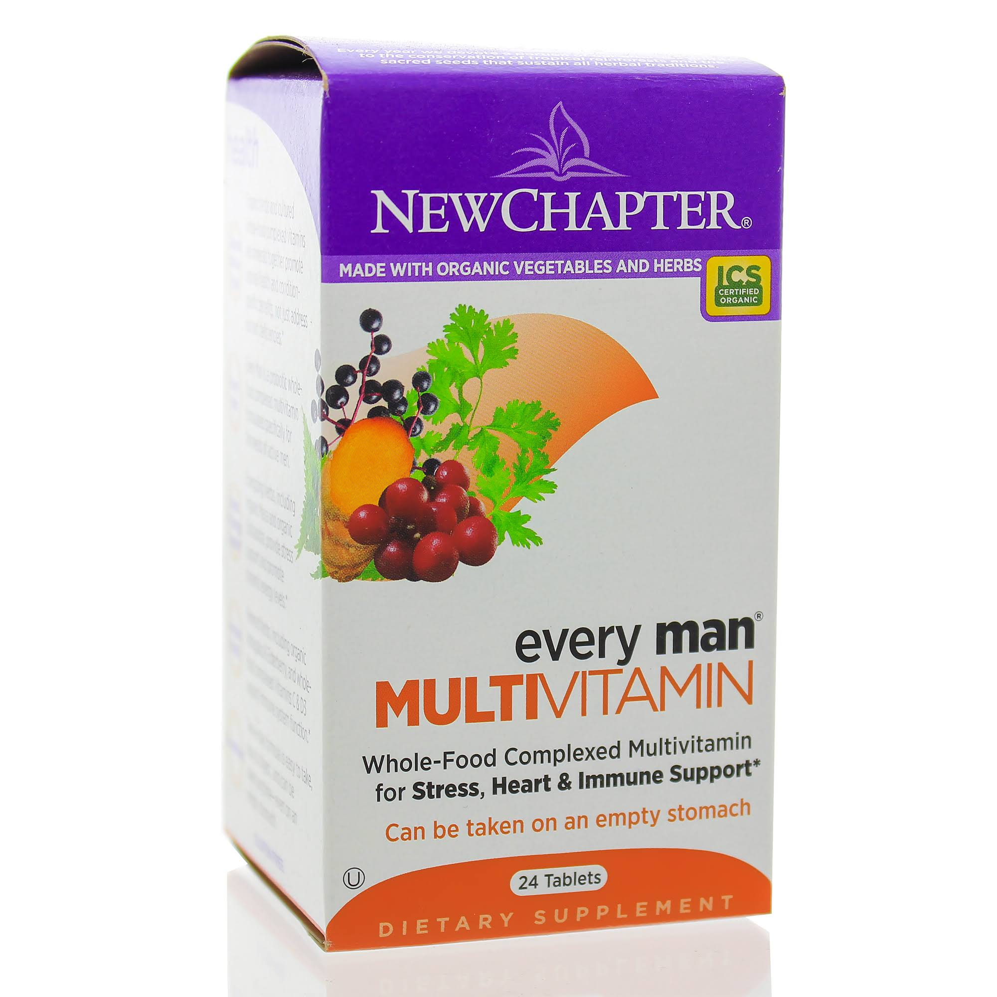 New Chapter Every Man Multivitamins Supplement - 24 Count