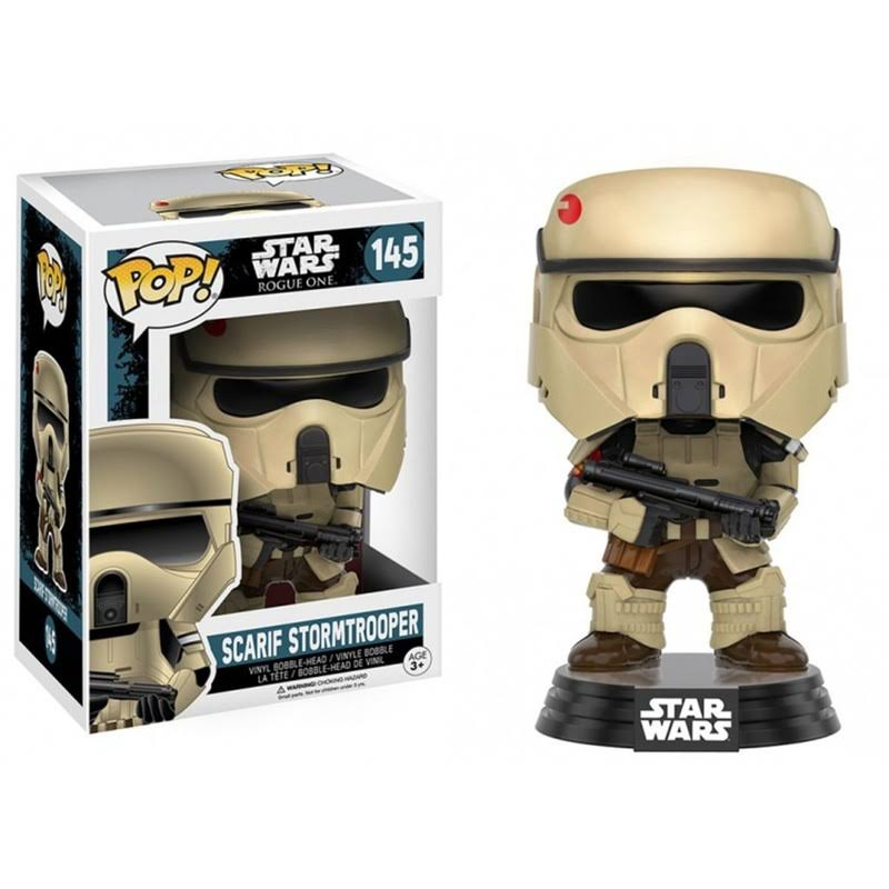 Funko Pop! Star Wars: Rogue One Vinyl Figure - Scarif Stormtrooper