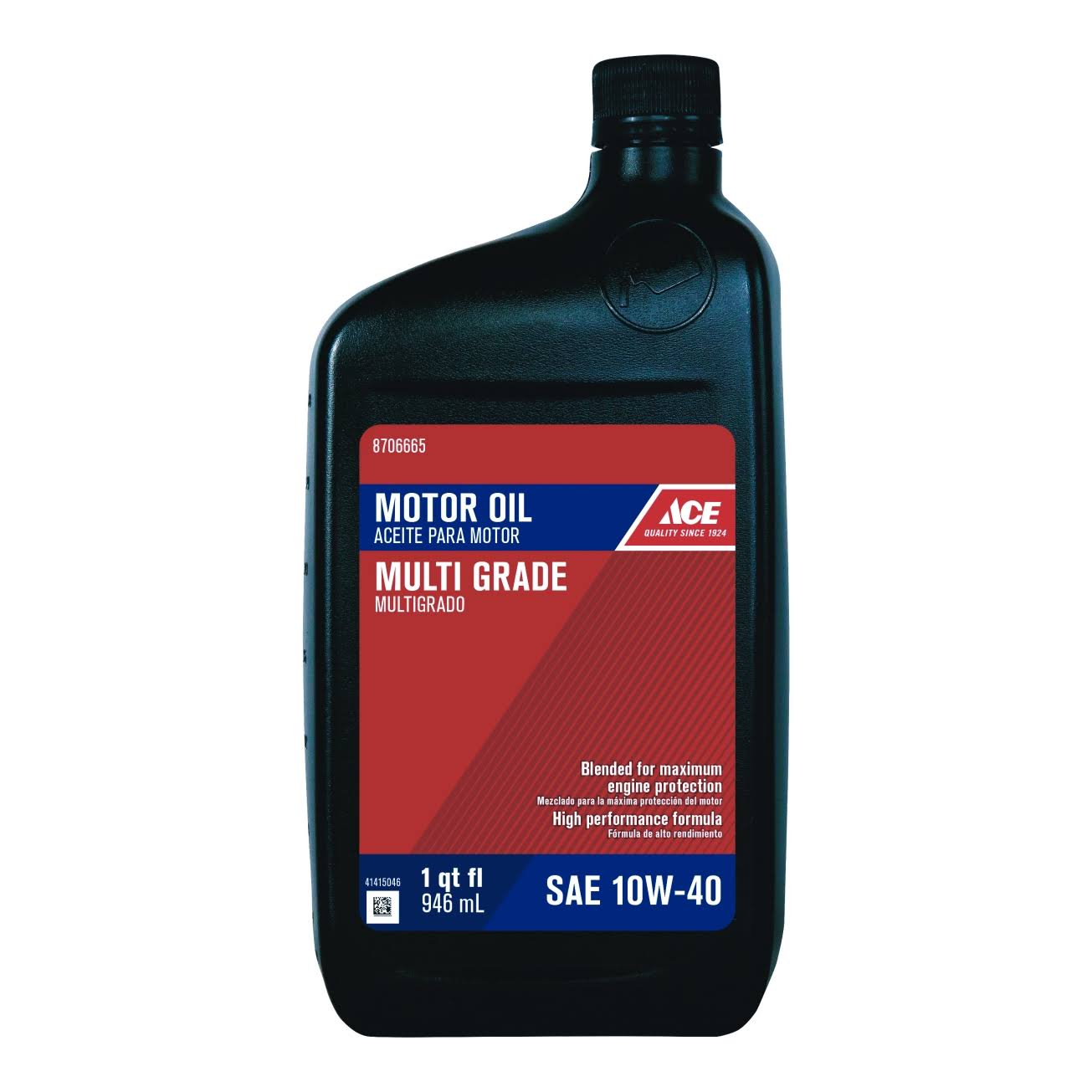 Ace Cycle Engine Motor Oil - 1qt