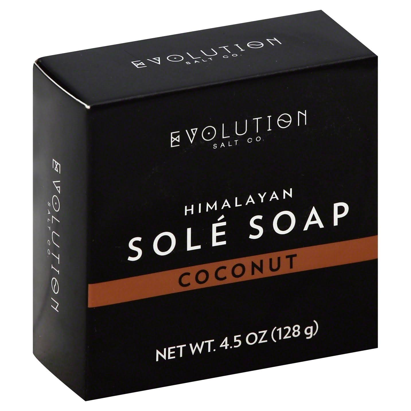Evolution Salt Bath Soap - Coconut, 4.5 oz