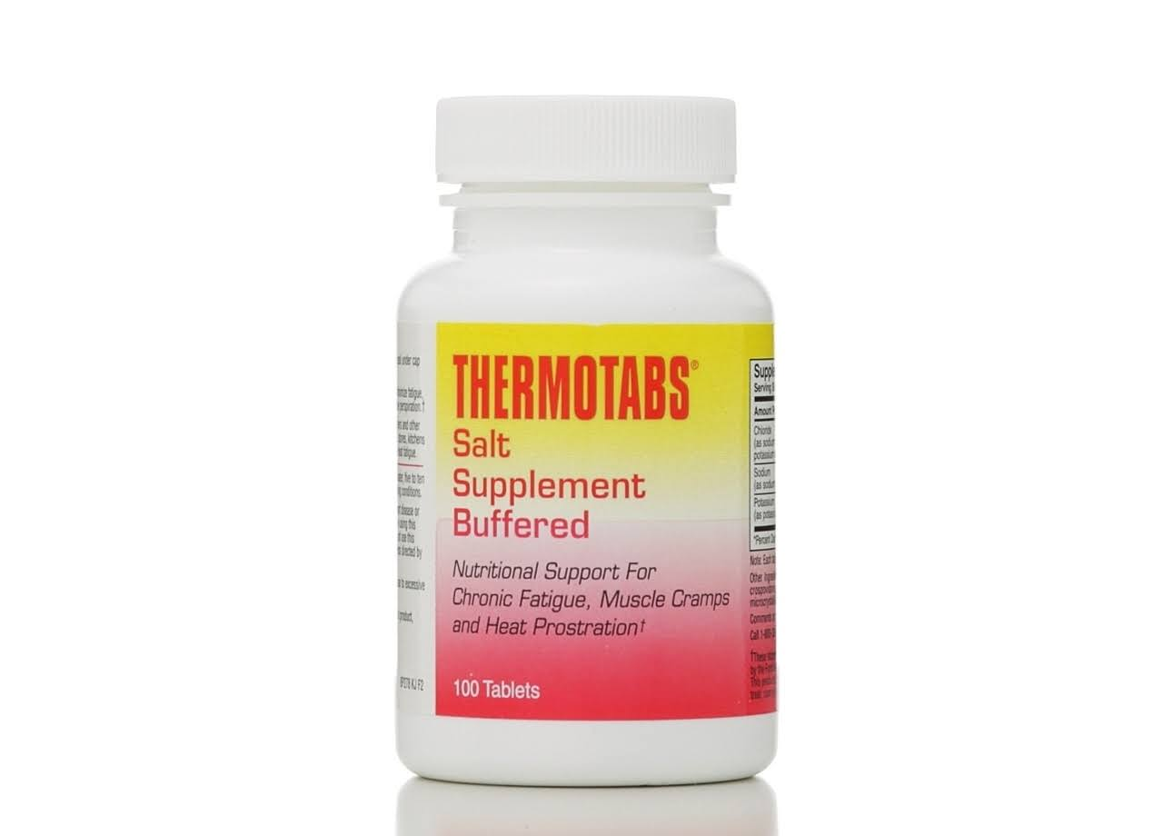 Thermotabs Salt Supplement Buffered - 100 Tablets