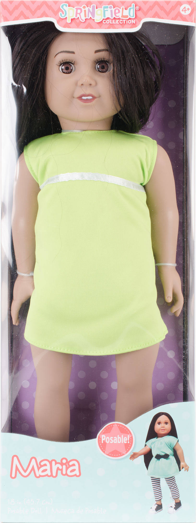 Fibre Craft 7090F-T Springfield Collection Pre-Stuffed Doll - 18""