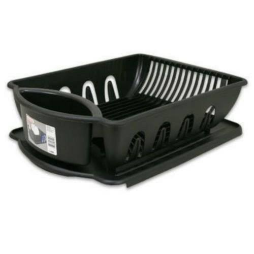 Sterilite 06418006 Ultra Sink Set - Black, 2ct