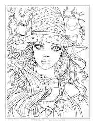Disney Halloween Coloring Pages by Free Witch Coloring Page Halloween Coloring Pages By Molly