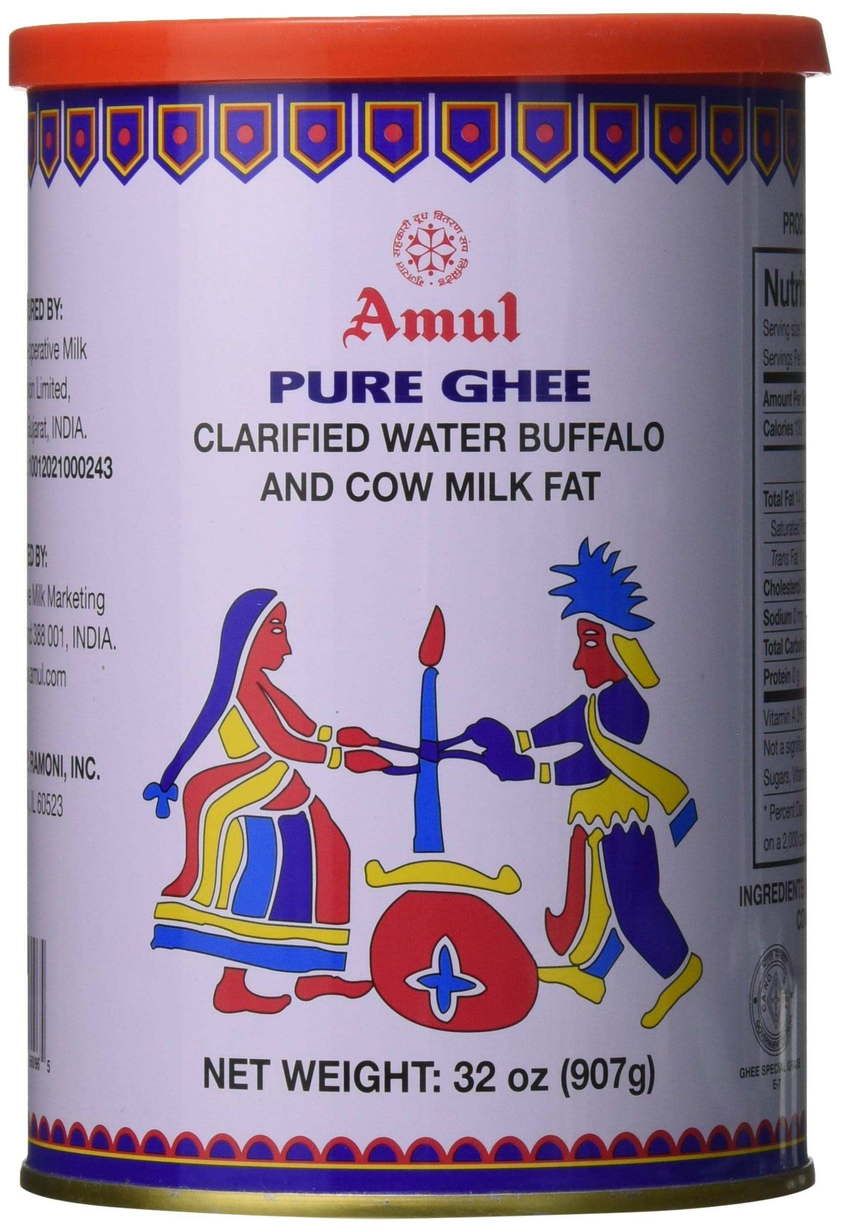 Amul Pure Ghee Clarified Butter 1L 905G