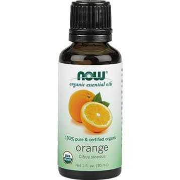 Now Foods Essential Oils Organic Oil - Orange, 30ml