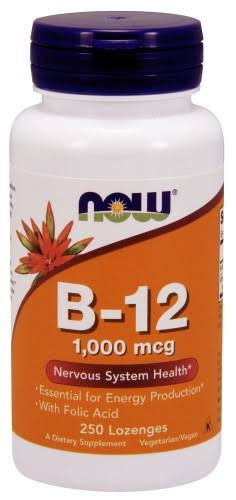 Now Foods Vitamin B-12 - 250 Lozenges
