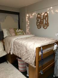 Dorm Room Bed Skirts by Pink And Gold Dorm Room Kent State University Dorm Ideas