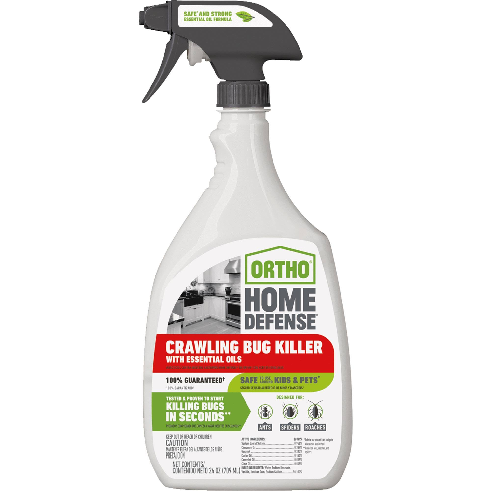 Scotts Ortho Home Defense Crawling Bug Killer - 24oz