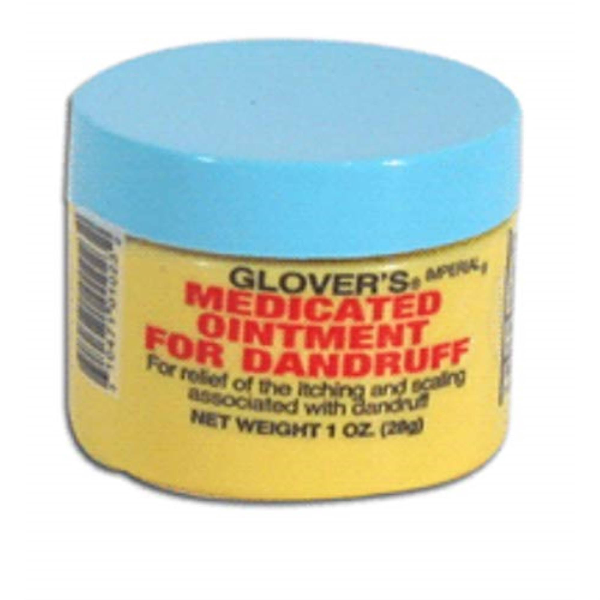 Glovers Medicated Ointment - For Dandruff, 1oz