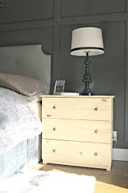 Ikea Tarva 6 Drawer Dresser by Ikea Dresser Hacks As Nightstands From Thrifty Decor