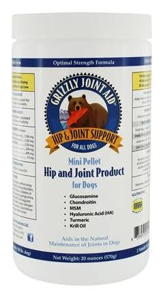Grizzly Joint Aid Mini Pellet Hip & Joint For Dogs - 570g