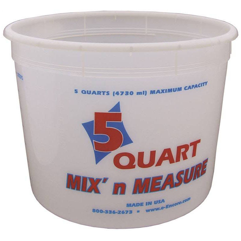 Encore 5 Quart Mix N' Measure Container