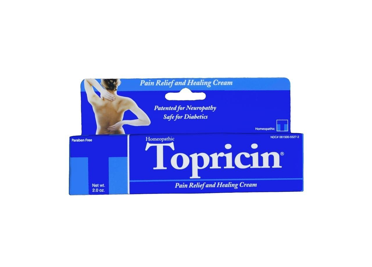 Topricin Homeopathic Pain Relief & Healing Cream - 2oz