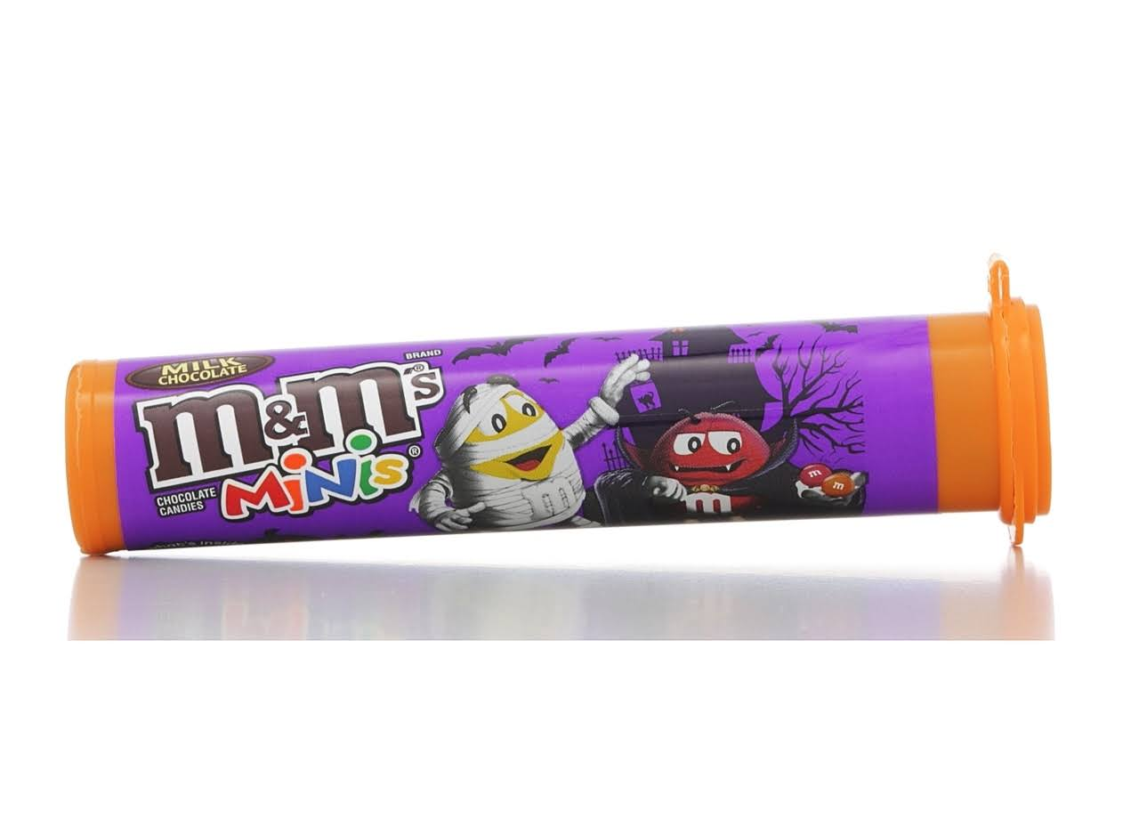 M & M Minis Chocolate Candies, Milk Chocolate - 1.77 oz