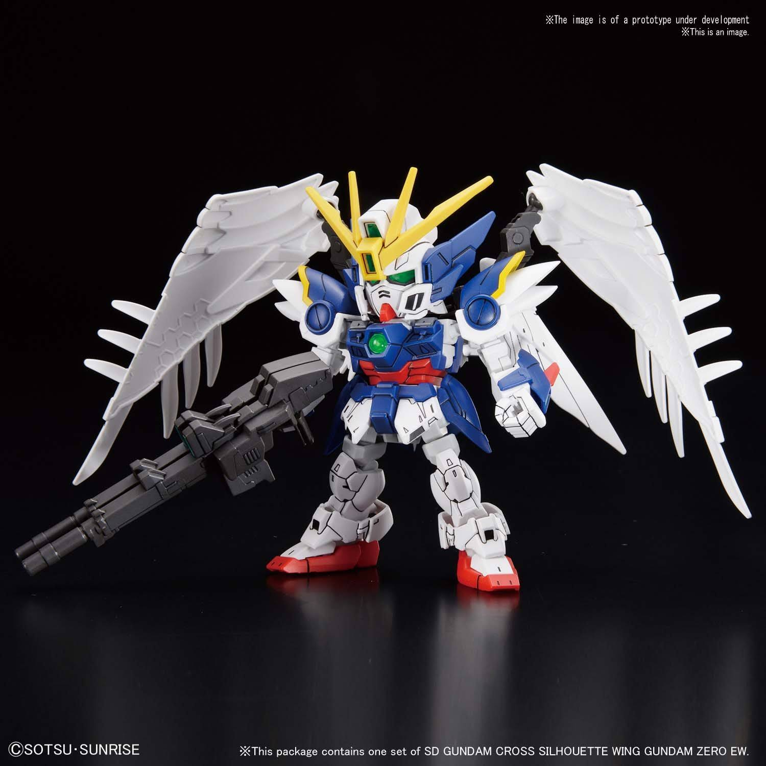 Bandai Gundam Wing: Endless Waltz 13 Zero SDCS Model Kit