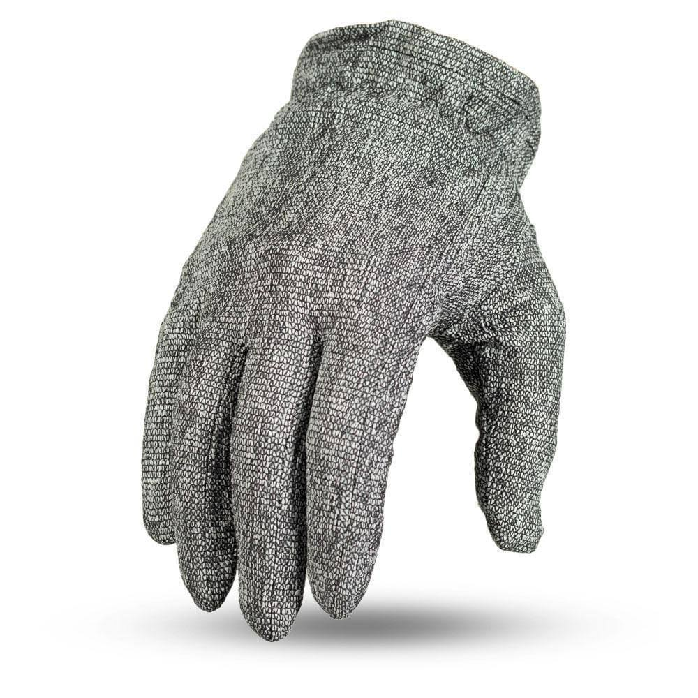 First Manufacturing FI305-M-GRY Gator Skin Gloves (Medium, Gray)