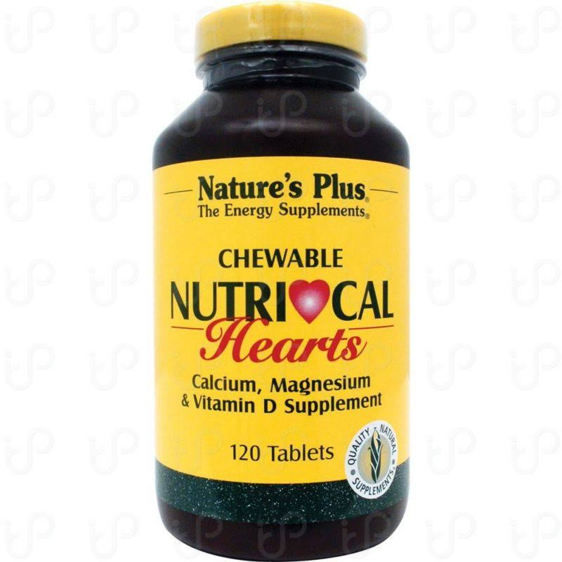 Nature's Plus Chewable Nutri-Cal Hearts