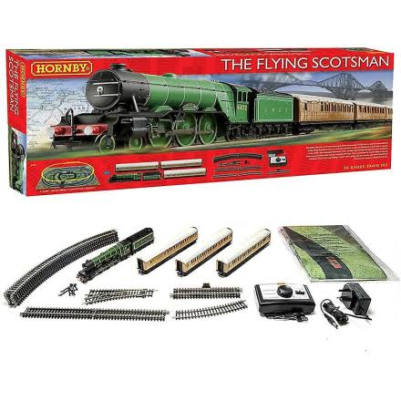 Hornby Flying Scotsman Train Set - 00 Gauge, R1167