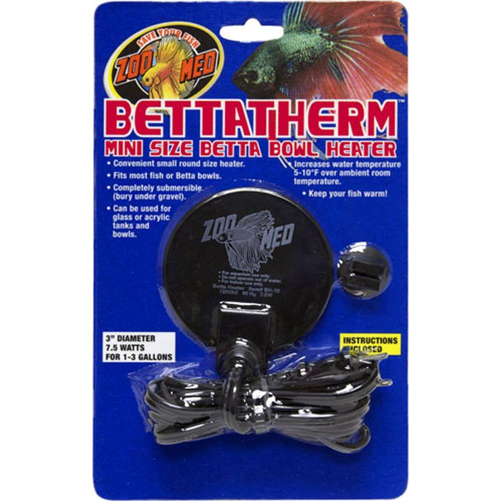 Zoo Med BettaTherm Submersible Betta Bowl Heater - 7.5W