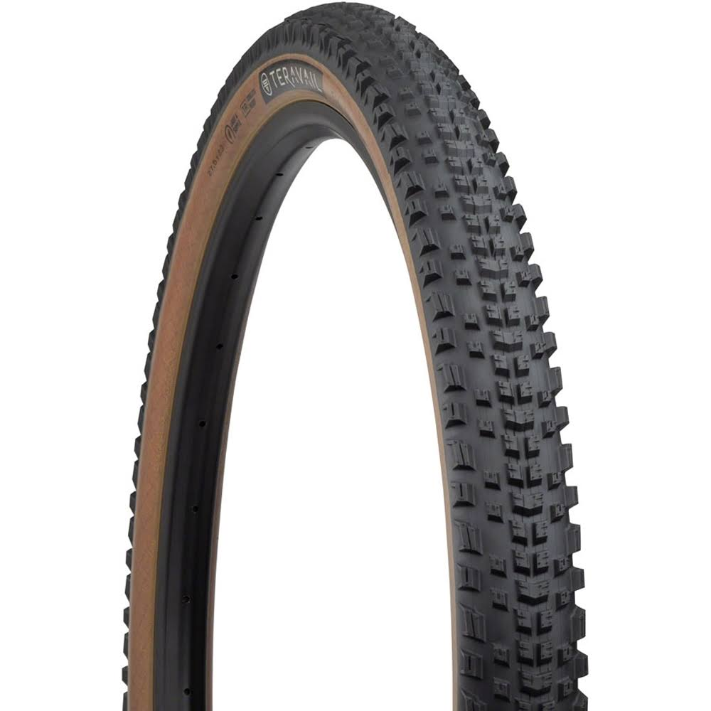 Teravail EhLine Tire - 29 x 2.3 Tubeless Folding Tan Light and Supple