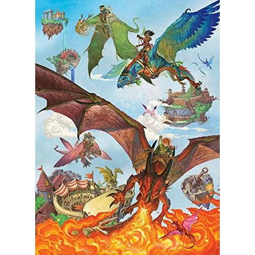 Cobble Hill 350pc Family Puzzle Dragon Flight