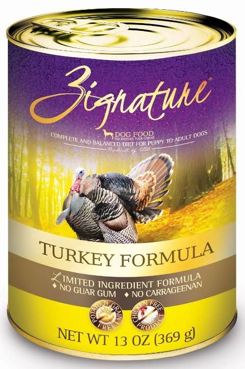 Zignature Can Dog Food - Turkey