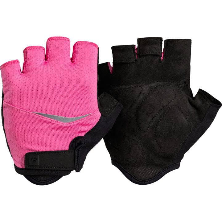 Bontrager Anara Women's Cycling Gloves - Black and Pink, X-Small