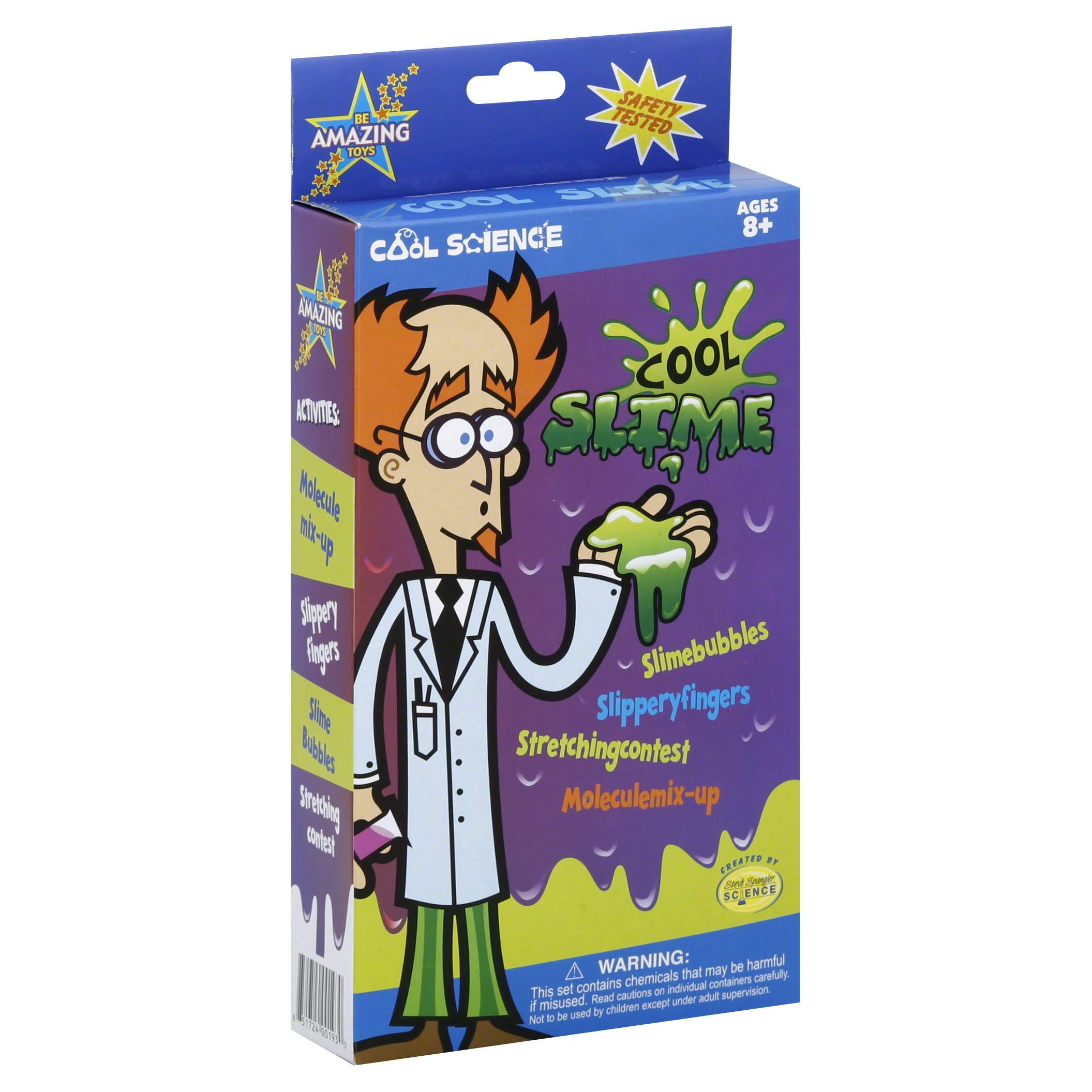Be Amazing Toys Cool Science Cool Slime