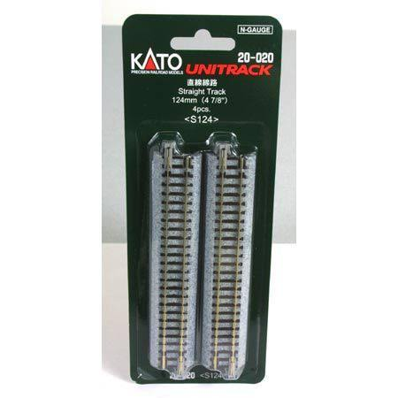 "Kato N 124mm 4-7/8"" Straight (4)"