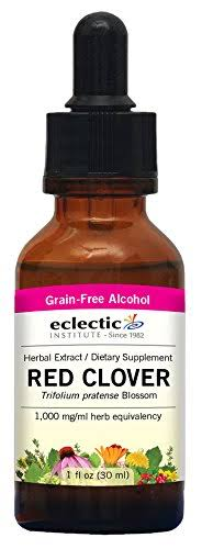 Eclectic Institute Red Clover Liquid Extract - 1oz