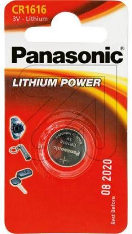 Panasonic CR1616 3V Lithium Battery