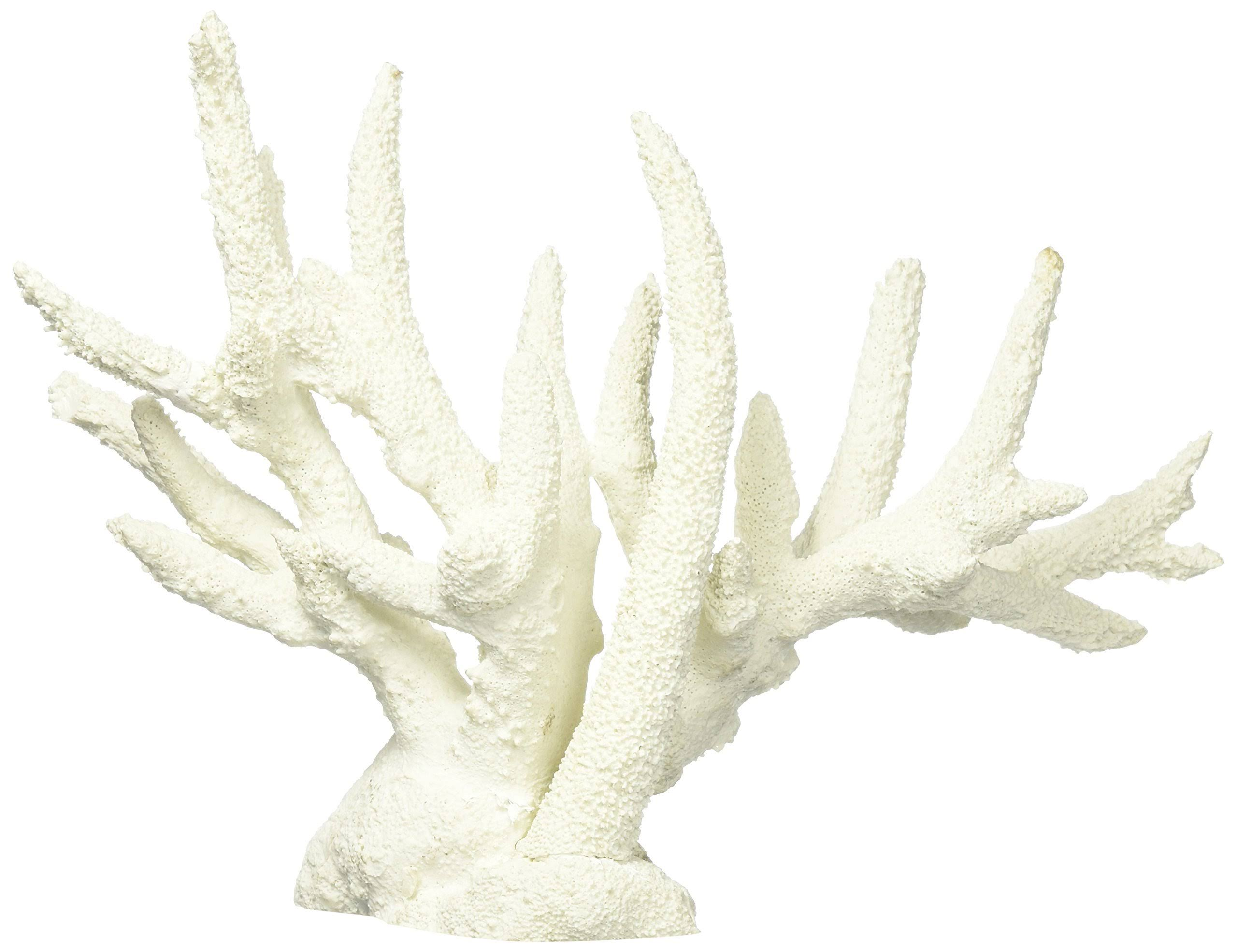 "Deep Blue Professional ADB80092 Staghorn Coral Aquarium Decor - 13.5"" x 4.5"" x 9.5"""