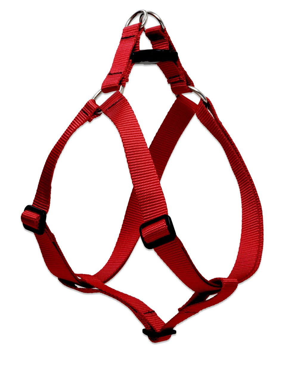 Lupine Step-In Harness - Red