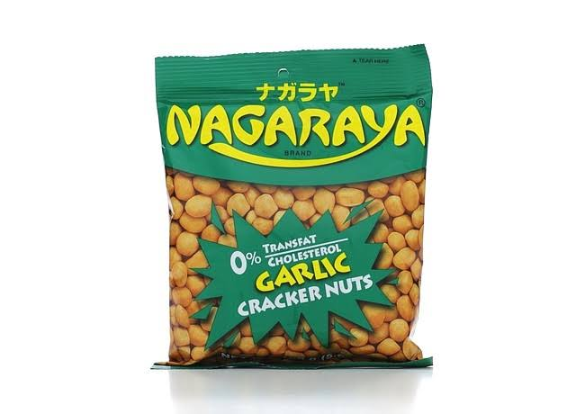 Nagaraya Cracker Nuts - Garlic, 5.64oz