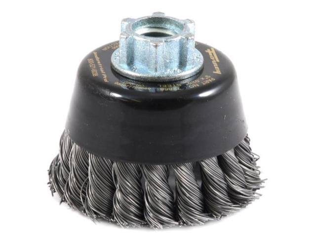 Forney Twist Knot Wire Cup Brush - 3""