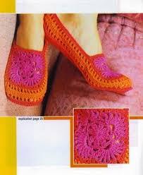 موديلات احذية كروشيه 2016 احذية