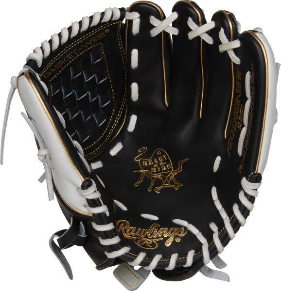 Rawlings Heart of the Hide Softball Glove - Black, RH, 12""