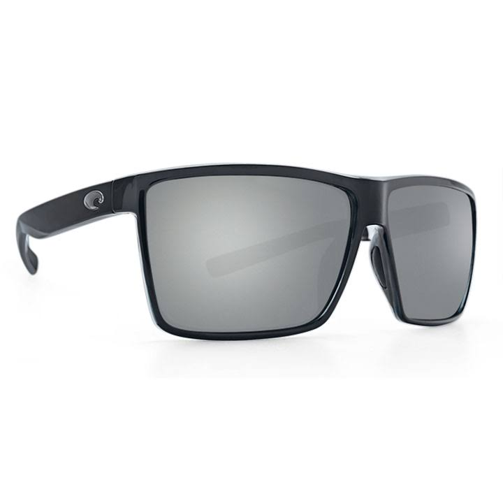 Costa Del Mar RIN11OSGP Men's Rincon Polarized Sunglasses - Black Frame, Gray Lens