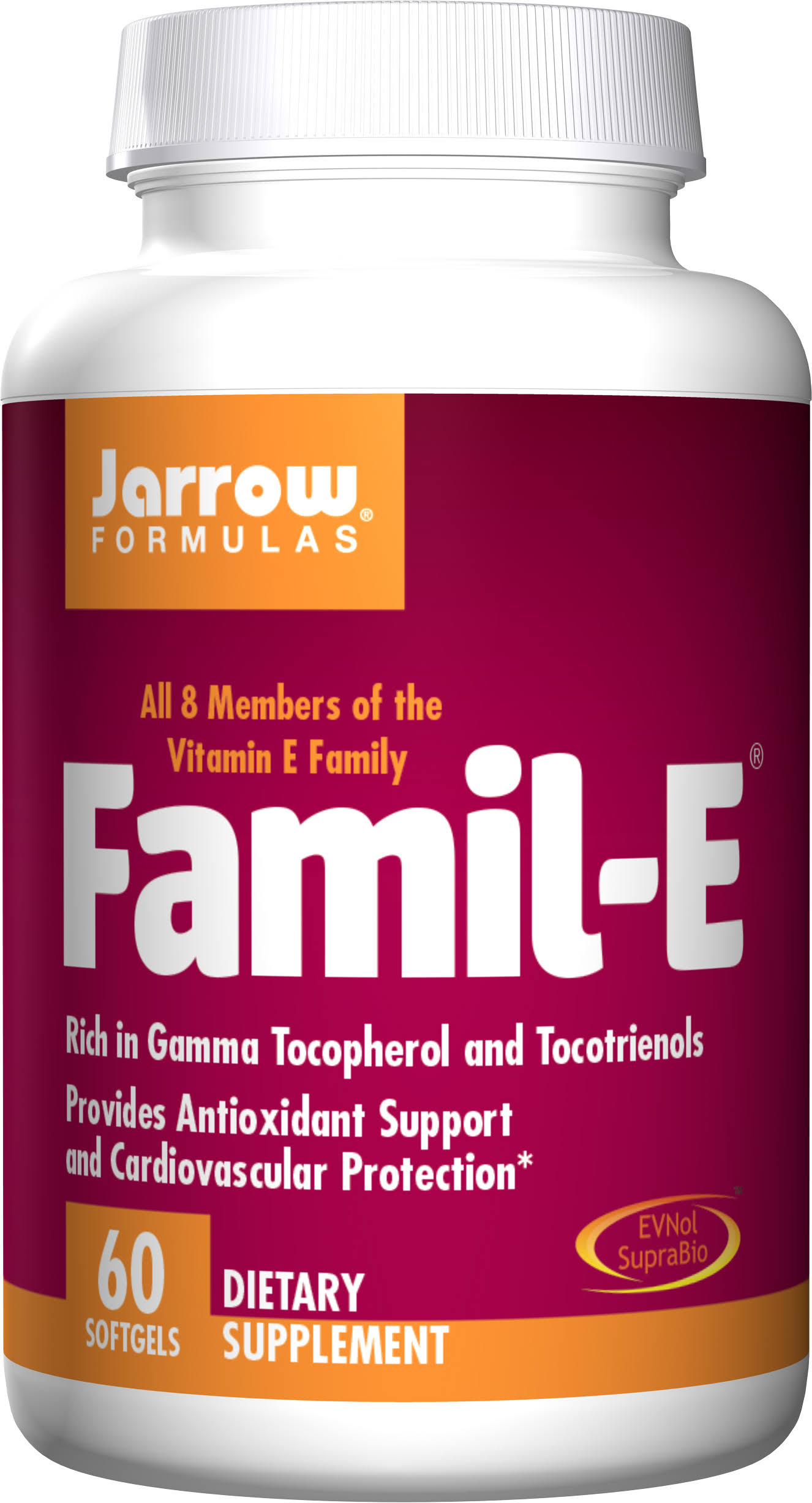 Jarrow Formulas Famil-E Supplement - 60 Softgels
