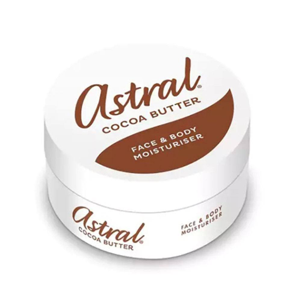 Astral Intensive Face and Body Moisturiser - with Cocoa Butter, 200ml