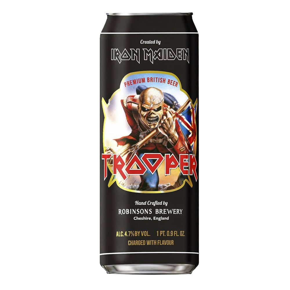 Robinsons Brewery Iron Maiden Trooper Premium British Beer - 1 Pint