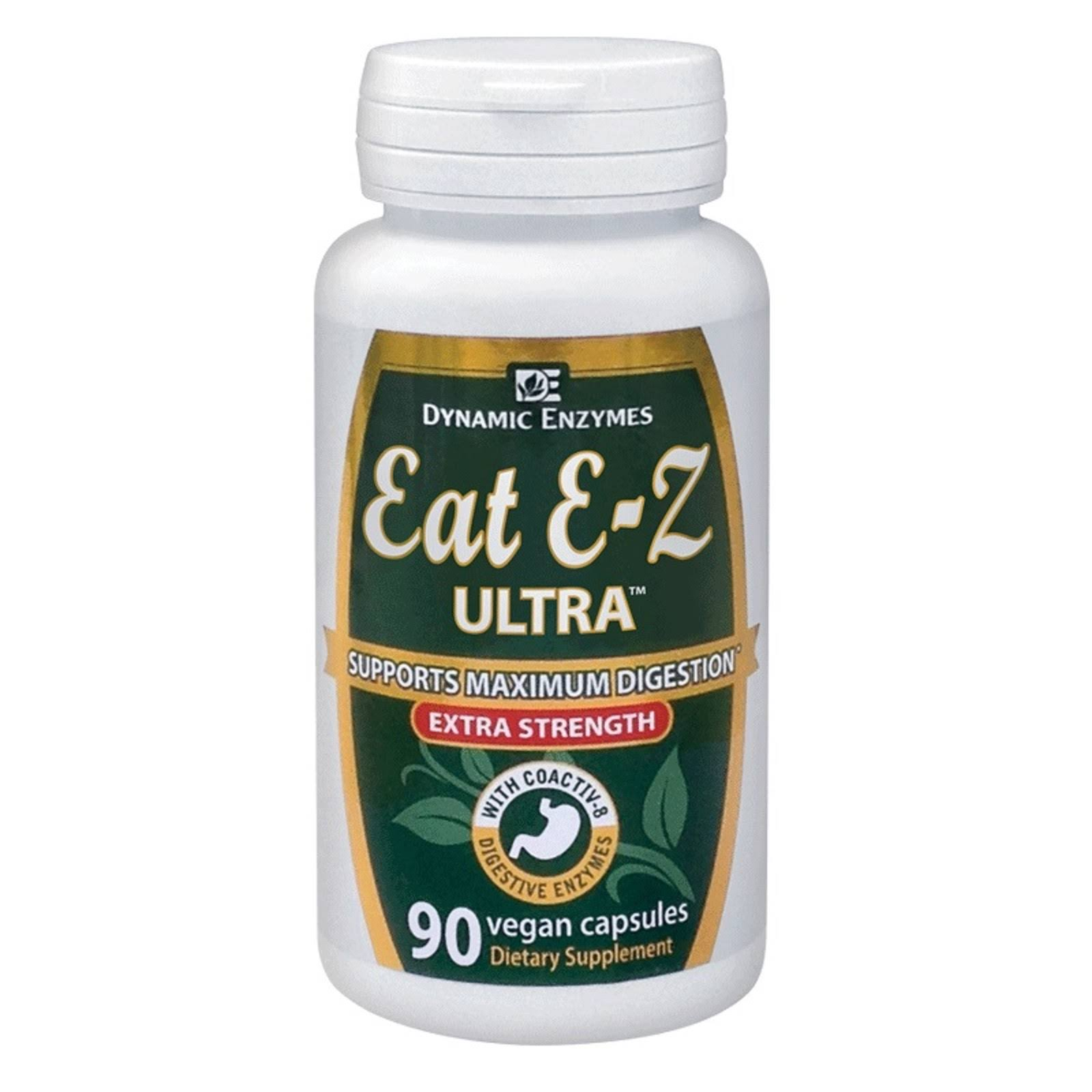 Dynamic Enzymes Eat E-z Ultra Extra Strength - 90ct