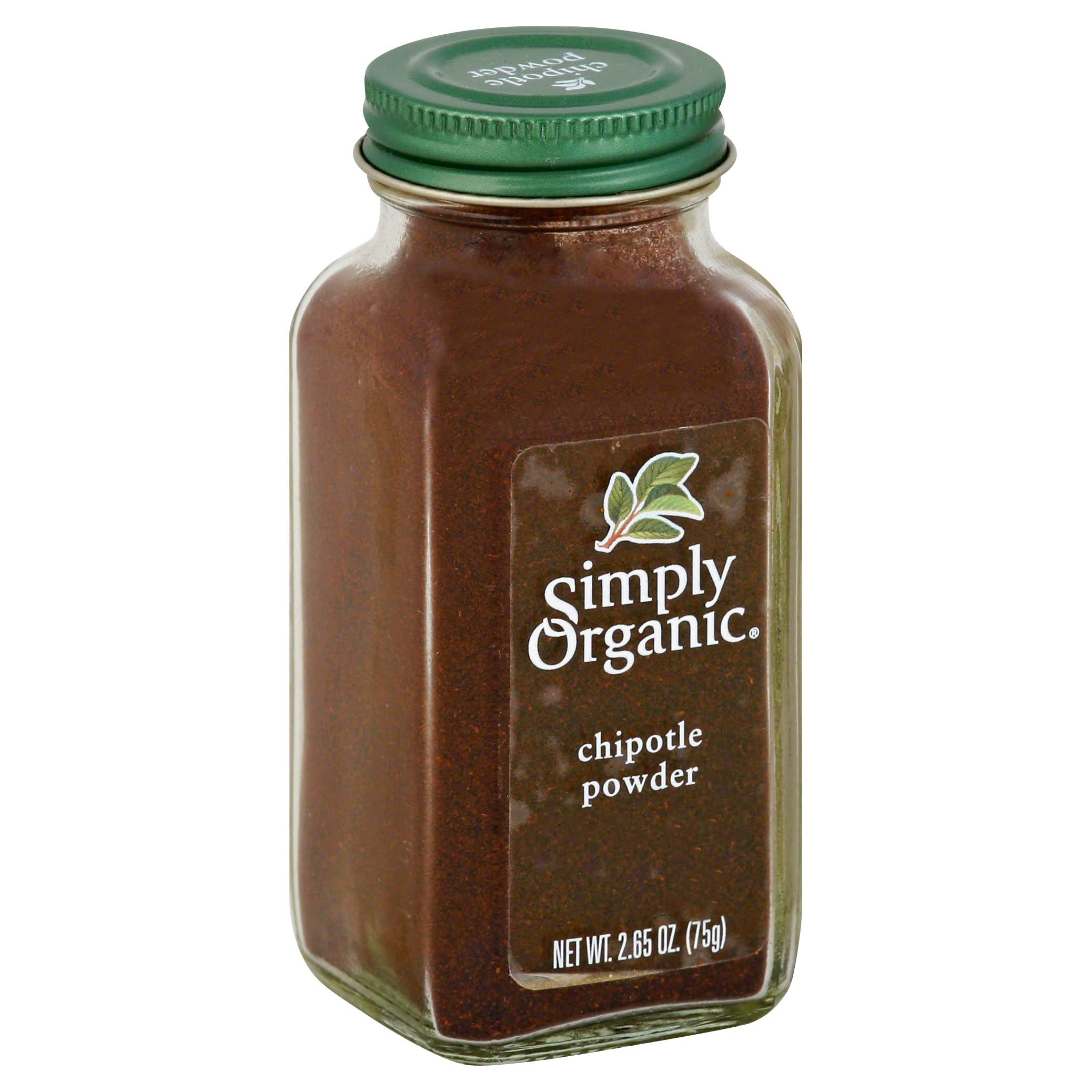 Simply Organic Powder - Chipotle, 75g
